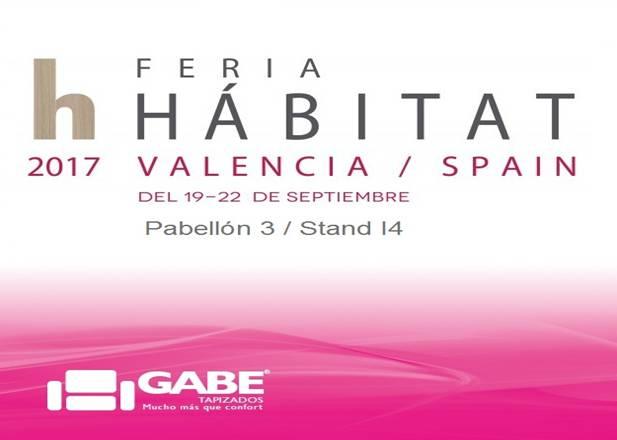 Gabe Tapizados en Feria Habitat Valencia